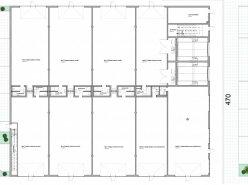 Atelier et surfaces modulables, garages, halles industrielles et boxes de stockage.