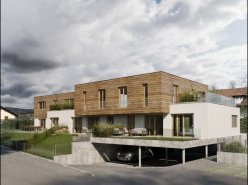Projet de 3 maisons mitoyennes