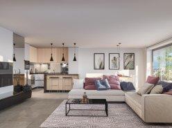 Splendide appartement neuf sur plan 4.5 pièces en PPE Attique en duplex - LOT 5 -  Belle échappée sur le lac