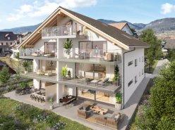 Promotion La Fontaine d'Argent - Lot de 6 appartements de 4.5 pces neufs sur plans
